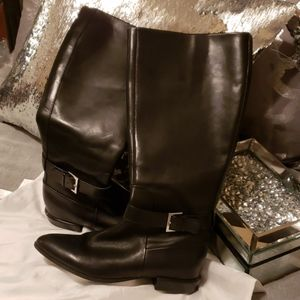 Authentic 9West leather boots